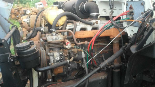 Motor Mwm 229 6 Cil Maçarico Ford F12000  Vw 13130 12140
