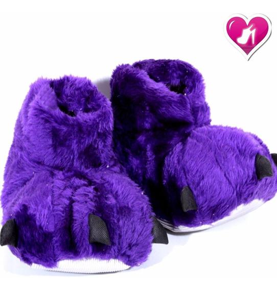 Pantuflas Garras Niños Talles 24 Al 33 Kids De Shoes Bayres