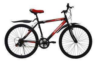 Bicicleta De Montana Supermex Storm Rodada 26 21 Velocidades