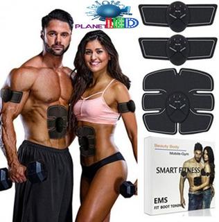 Electrodo Triple 3 En 1 Ejercitador Abdominal Biceps Fitnes