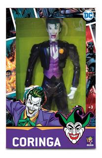 Muñeco Joker Guasón Dc Gigante 45cm Articulado Original