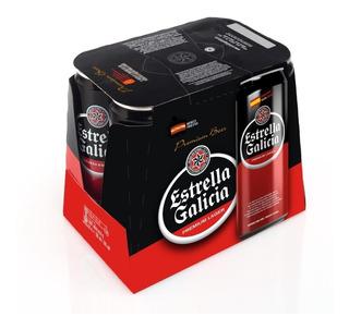 Cerveza Estrella Galicia 500 Ml Pack 6 U - Perez Tienda -