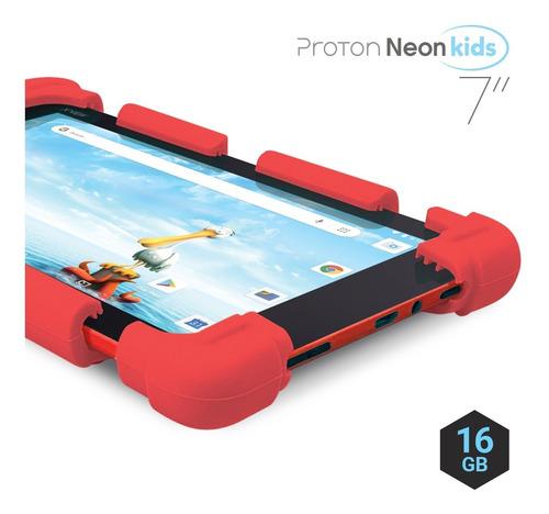Tablet X-view Proton Neon Kids 7  16gb - Bumper Protector