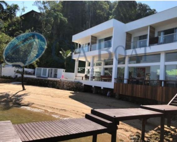 Linda Casa Com Praia Em Angra Dos Reis - 2042006661 - 33705680
