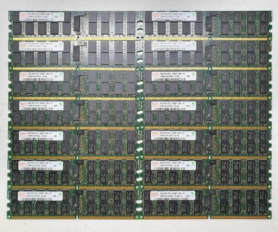 Memória Hynix 4gb Pc2-5300p-555-12 Dell Hp Ibm