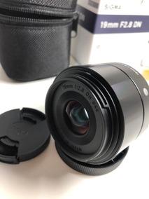 Lente Sigma Art 19mm F/2.8 Sony E-mount Automático