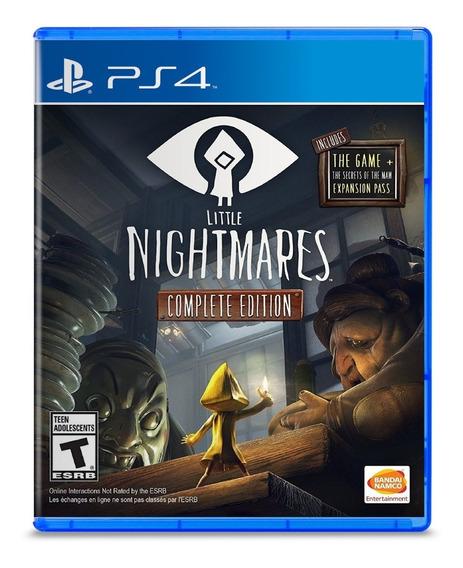 Little Nightmares Complete Edition - Ps4 - Lacrado