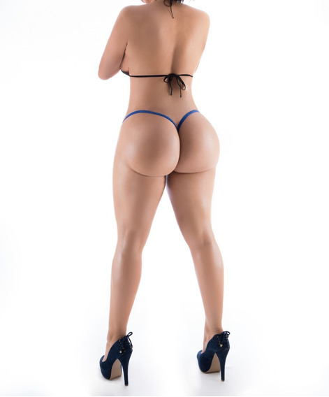 Tanga Corte V Material D Bikini Para Alberca Playa Minifalda