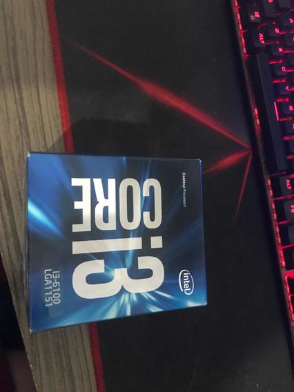 Processador Intel Core I3 6100 3.70ghz