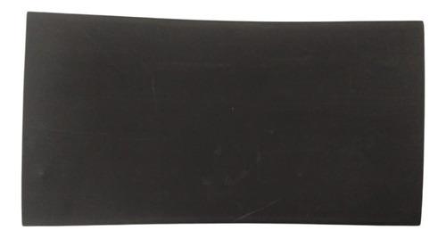 Imagem 1 de 2 de Espaguete/tubo Termo Retrátil Preto 60mm 6 Unidades C/18cm