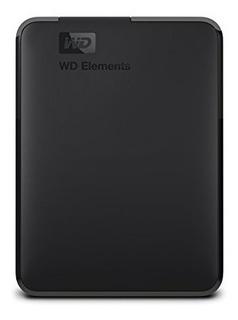 Disco Duro Externo Portatil Usb 3.0 De Wd Elements Negro