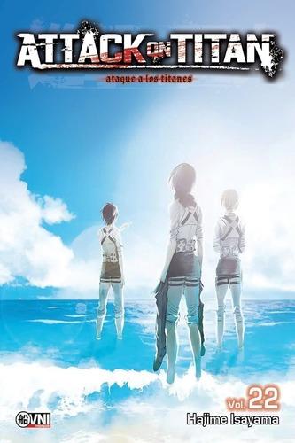 Imagen 1 de 4 de Manga - Attack On Titan 22 - 6 Cuotas