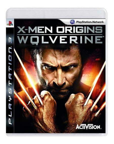 X-men Origins Wolverine Ps3 Mídia Física Pronta Entrega