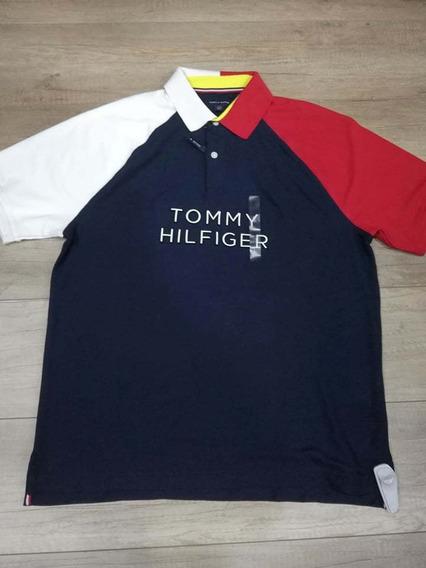 Camiseta Tommy Hilfiger De Hombre Original Talla Large