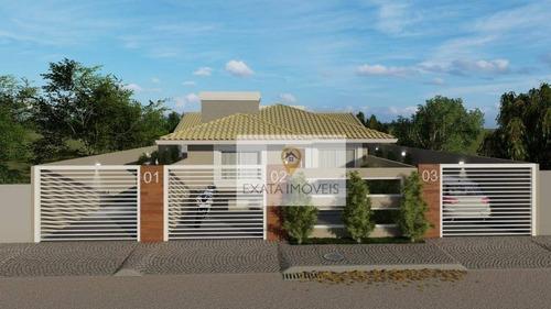 Lançamento! Casas Lineares Com Quintal Independente, Ouro Verde/ Rio Das Ostras! - Ca1280