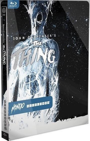 The Thing 1982 Steelbook Blu-ray La Cosa John Carpenter