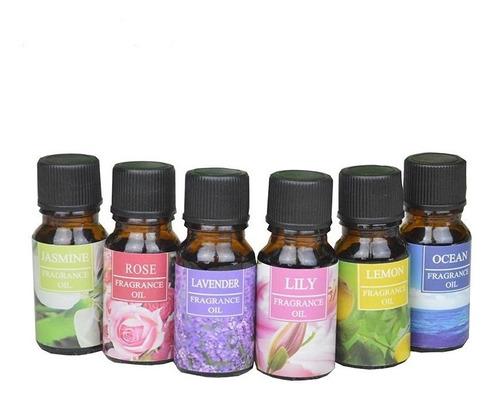 Imagen 1 de 4 de Fragancias Naturales Para Difusor Aceites Esenciales Kit 8pz