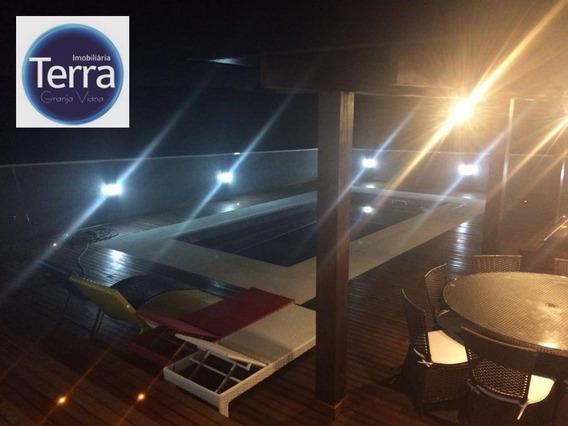 Casa Residencial Para Venda. Parque Das Artes, Granja Viana. - Ca0857