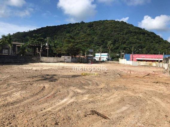 Terreno Para Alugar, 2244 M² Por R$ 13.000,00/mês - Guarujá - Guarujá/sp - Te0151