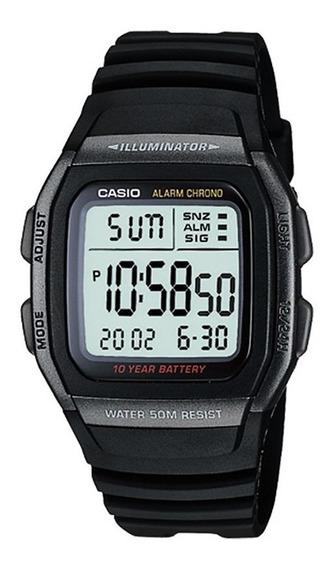 Relógio Casio Standard Masculino Illuminator W-96h-1bvdf