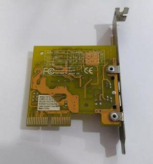 Tarjeta Red Fax Modem Cnr V1.2 Para Mb Pc Chips Y Compatible