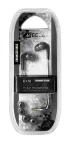Fone Headphone In-ear Stereo Mee Audio Rx18 Retorno Preto