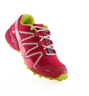 Zapatillas Mujer Deportivas Trekking I-run 3468fj Luminares