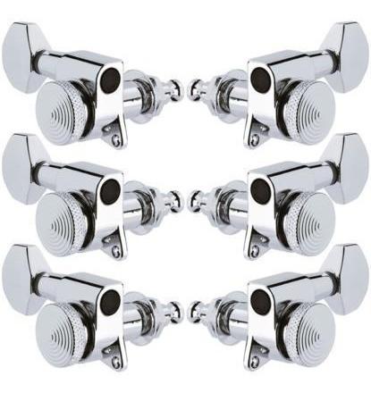 Tarraxa 3x3 Prata Com Trava Lock Pronta Entrega