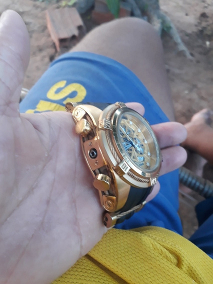 Relogio Invicta Zeus Dourado