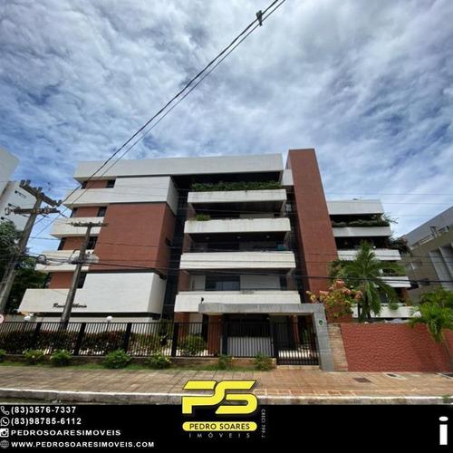 Apartamento Com 3 Dormitórios À Venda, 152 M² Por R$ 500.000 - Intermares - Cabedelo/pb - Ap4933