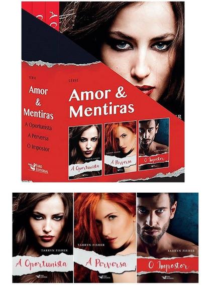 Livro - Box Amor E Mentiras - Tarryn Fisher - 3 Vols