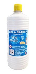 Cola Branca Escolar Líquida New Magic 1000gr Gr Química