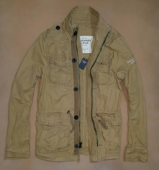 Jacket Abercrombie&fitch, Talla L, Tipo Cargo!