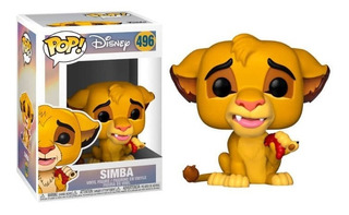 Funko Pop Simba 496 Disney The Lion King 100% Original