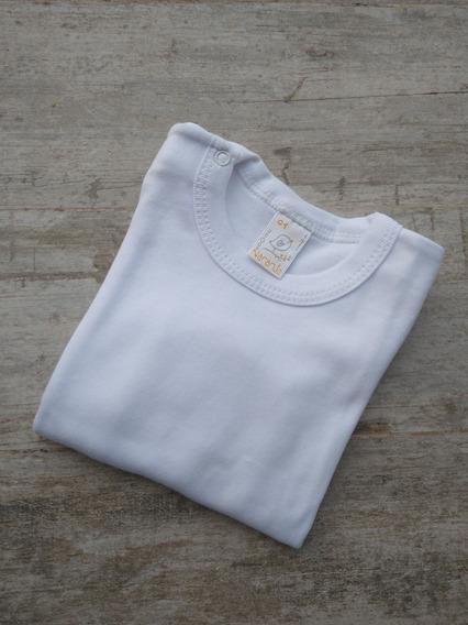 Camiseta Bebé Naranjo Lisa
