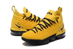 Tênis Lebron 16 Nba Amarelo Novo C/caixa Importado Orig