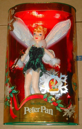 Imagem 1 de 7 de Boneca Tinker Bell Holiday Sparkle 1999 Mattel Barbie Disney