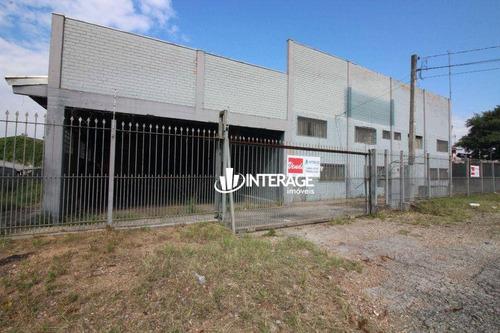 Imagem 1 de 30 de Barracão, 900 M² - Venda Por R$ 2.500.000,00 Ou Aluguel Por R$ 10.000,00/mês - Cidade Industrial - Curitiba/pr - Ba0019