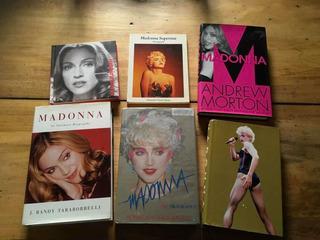 Madonna Madame X Tour Lote De 15 Libros Y Revistas Music