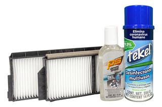 Kit Desinfectante Y Filtro De Cabina Mazda 3 04-09 2.3