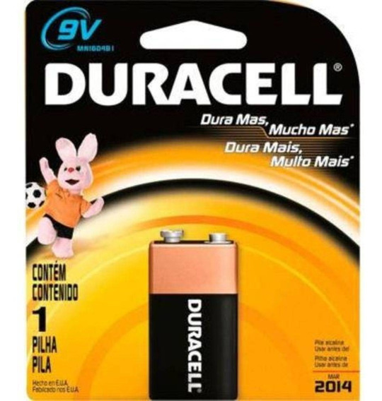 Kit C/ 2 Bateria Duracell 9v