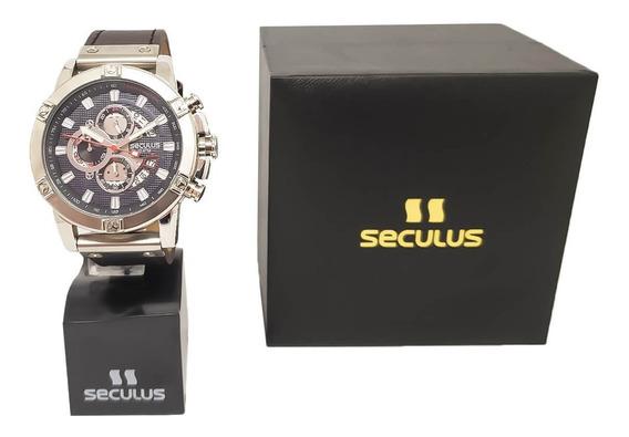 Relógio Masculino Social Seculus 23683g0svnc2