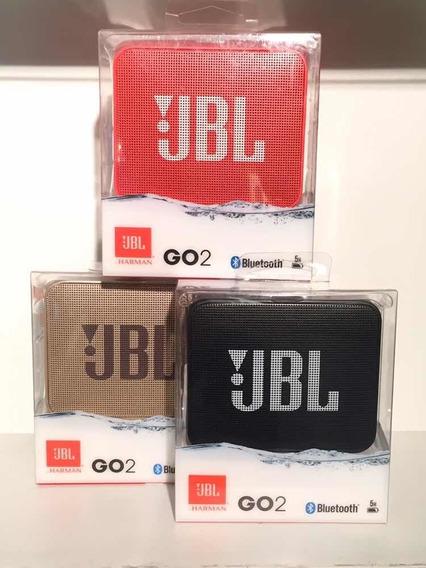Caixa De Som Jbl Go 2 Red Edition Bluethooth Portátil.