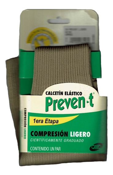 Calcetines Hombre Preven-t Nylon Control Varices Pack 2pares