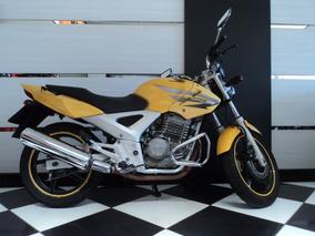 Honda Cbx250 Twister Amarela 2007