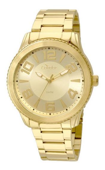 Relógio Condor Unissex Dourado Co2035ksn4d