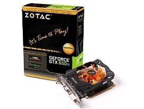 Placa D Vídeo Geforce Nvidia Gtx 650 1gb 128 Bits Ddr5 Zotac