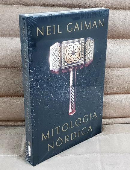 Livro Mitologia Nórdica / Neil Gaiman ( Capa Dura ) Lacrado