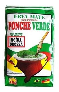 Ponche Verde Erva Mate Moída Grossa 6kg Chimarrão Gaúcho