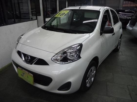 Nissan March 1.0 12v S 5p Completo 2018 Branco